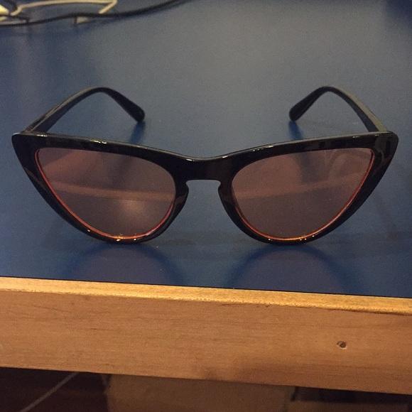 e45a3654d46 Robin Ruth  Montauk  Peach Sunglasses